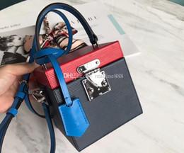 $enCountryForm.capitalKeyWord Australia - DHL Free Shipping,5A M52466 12cm Bleecker Box Cosmetic Bag,Épi Grained-Cowhide Leather,Key Bell,Inside Mirror,Come with Dust Bag+Box