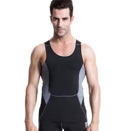 $enCountryForm.capitalKeyWord Australia - Brand Mens Sleeveless Shirts Summer Slim Fit Compression Tank Tops Gyms Clothing Bodybuilding Undershirt Fitness Top Tees