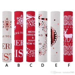 $enCountryForm.capitalKeyWord Canada - 270*28cm Christmas Table Runners Tablecloth Xmas Elk New Year Party Dinner Table Decoration for home Table Cover Party Supplies