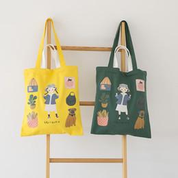 $enCountryForm.capitalKeyWord Australia - Cartoon Girls Cute Ladies Shopping Bags Zipper Pocket Canvas Candy Color Shoulder Bag Fruit Colorful Handbags Women New Bag B46