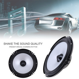 speaker 6.5 inch NZ - 2pcs 6.5 Inch Car Speaker 60W 88dB Auto Car Coaxial HiFi Speakers Vehicle Audio Music Full Range Frequency Speaker Loudspeaker