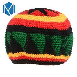 $enCountryForm.capitalKeyWord Australia - C Novelty Knitted Jamaica Bob Marley Rasta Beanie For Women Men Multicolor Male Hat Female Cap Headwear Hair Accessories