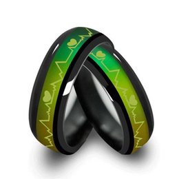 $enCountryForm.capitalKeyWord UK - Wholesale- MMS Fashion Titanium Black Mood Rings Temperature Emotion Feeling Engagement Rings Women Men Promise Rings For Couples Jewelry