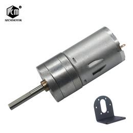 $enCountryForm.capitalKeyWord Australia - 10pcs 16 rpm-1360 rpm micro baixa velocidade da engrenagem do motor pequeno com 25mm * 4mm de comprimento do eixo de saída com Suporte Em Fo