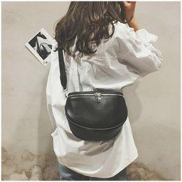 Small Shoulder money bag online shopping - New Arrival Fashion Pure Color Women Leather Shell Messenger Shoulder Bag Bust Bag Crossbody Bag Money Phone Travel Hottest