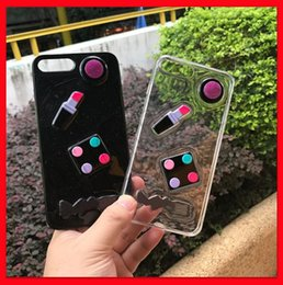 Phone Types Australia - 2019 m cover Fashion Design Lipstick eyeshadow blush Phone Case 2 types For iPhone XS, iphone XR Xmas iPhone 8 7 6 PLUS