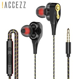 Headphone/headset Reliable Mambaman Universal 3.5mm In-ear Stereo Earbuds Earphone Super Bass Stereo Music Headset With Mic For Cell Phone Fone De Ouvido Earphones & Headphones