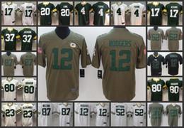 Green Bay Embroidery Packers Men Jersey  12 Aaron Rodgers 17 Davante Adams  52 Clay Matthews 80 Jimmy Graham Women Youth Football Jerseys 0a62f514b