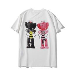 $enCountryForm.capitalKeyWord UK - Doll doll bee printing Cotton short-sleeved T-shirt male loose casual fashion half-sleeved T-shirt 2019 new 02National flag l