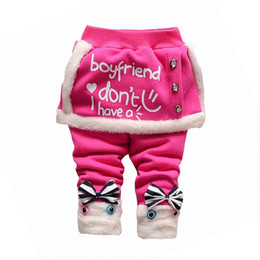 3d4fd7a801ac2 good quality Winter Baby Warm Pants Fall Autumn Toddler Girl Legging  Skirt-pants Infant Thick Trousers Children Bebe Girls Red Pants