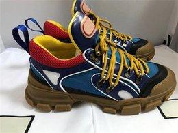 Großhandel 2019 Designer Sneaker Flashtrek Sneaker mit herausnehmbarem Damen Herren Trainer Bergsteigerschuhe Herren Outdoor Wanderschuhe