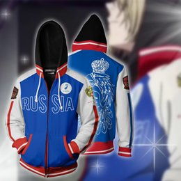 yuri ice cosplay Australia - Ice sweater cosplay Yuri You Liao 3D animation 3D Hoodies