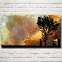 doctor prints canvas Canada - Doctor Who -4,HD Canvas Printing New Home Decoration Art Painting Unframed Framed