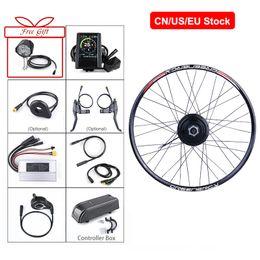 """Bafang 48V 500W Hub moteur de conversion Roue vélo électrique arrière Kit types de vélo 20 « 26 » 27.5"""" 700C roue arrière en Solde"""