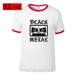 $enCountryForm.capitalKeyWord Australia - fashion men T shirt cotton Men black metal corpse paint mixtape retro music heavy metal printed T-shirt short sleeve tshirts