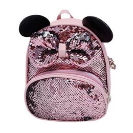 $enCountryForm.capitalKeyWord Australia - Backpacks Mini For Dolls Fashion Cut Parent Girls Children Sequin Bow Travels Shoulder Bags Messenger 2019 School Kid backpack