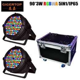 $enCountryForm.capitalKeyWord Australia - 2IN1 Flightcase Pack 90x3w waterproof 5 color led par light dmx auto sound manual control Stage Party Light Disco DMX512