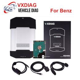 $enCountryForm.capitalKeyWord Australia - VXDIAG Multidiag OBD2 OBD Diagnostic Tool for Benz Powerful than C4 For Mercedes Benz scanner Multi-language Programming Tool