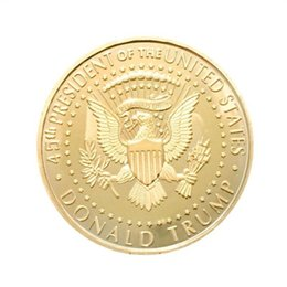 draw flags UK - Donald Trump Commemorative Coin Metal US President Collection Eagle Coins America National Flag Souvenir EDC Badge Craft Gold Color 2 3yn C1