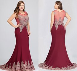 $enCountryForm.capitalKeyWord Australia - In Stock Mermaid Plus Size Mother Of The Bride Dresses Cheap Lace Appliqued Mother Formal Wedding Dress Long Evening Prom Gown
