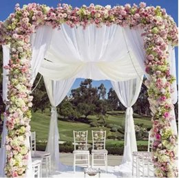 $enCountryForm.capitalKeyWord Australia - 48cm*10 Meters Crystal Tulle Fabric Organza Sheer Gauze Element DIY Girls Tutu Skirt Craft Wedding Party Decoration Supplies