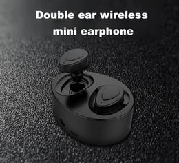 K2 TWS Twins Kopfhörer Mini Bluetooth Drahtlose Kopfhörer Headset Stereo Ohrhörer Sport In Ear Kopfhörer mit Ladebox Freies DHL im Angebot