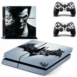 Großhandel Vinyl Für PS4 Schlanke Sticker für Sony Playstation 4 Slim Konsole + 2 Controller Haut-Aufkleber für PS4 S Haut