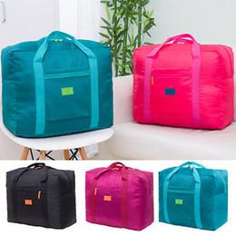 fashion duffle bags women 2019 - Women Travel Duffle Men Waterproof Nylon Bag Unisex Fashion Bag Cute Portable Tote discount fashion duffle bags women