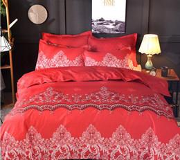 Bedsheet Cotton White Australia - 6 Colors Egyptian Twin~King Size Bedding Sets Juegos De Sábanas De Algodón Bed Sheets Queen Bedding Sets King Size Comforter Set