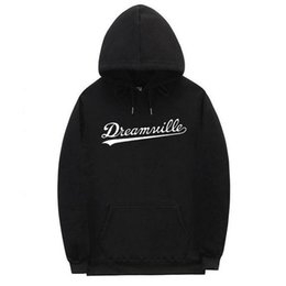Wholesale xxxtentacion hoodies resale online - Brand Hip Hop DREAMVILLE Hoodies Polerones Hombre Autumn Hoodie Winter Pullover Xxxtentacion Hoodies Men