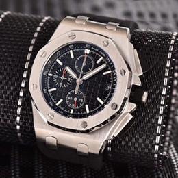 $enCountryForm.capitalKeyWord Australia - 2019 Luxury Men's VK Chronograph Watch Japanese Quartz Rubber Strap Sports Men Mens Watch Watches Wristwatch