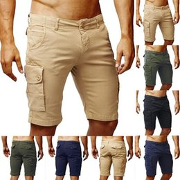 $enCountryForm.capitalKeyWord Australia - New Summer Breathable Casual Shorts Fashion Cool Cotton Men Casual Shorts Skinny Slim Comfortable Short Pants Men Beach Homme