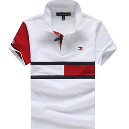 Wholesale mens polo clothing resale online – 2020 Mens Designer Polos Brand horse Crocodile Embroidery clothing men fabric letter polo t shirt collar casual t shirt tee shirt tops