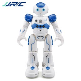 Gifts Finishing UK - In Stock !Jjr  C Jjrc R2 Usb Charging Dancing Gesture Control Rc Robot Toy Blue Pink For Children Kids Birthday Gift Present