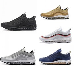 Fast delivery shoes online shopping - Running Shoes s OG Gold Silver Bullet Triple White Black Mens womens Trainer Sports Shoes Fast Delivery Brethable Sneakers Size