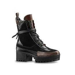 $enCountryForm.capitalKeyWord UK - BLACK HEART PLATFORM DESERT BOOT Designer Boots Martin Booties Boot Shoes LAUREATE PLATFORM 1A43LP (With Box+Dust Bag) Size 35-41 S34