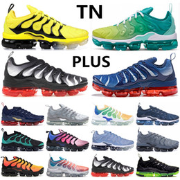 Chinese  Men Designer TN Plus Olympic Game Royal Spirit Teal Triple Black White wolf grey Lemon Lime Bleached Aqua Men Women Running Sneakers manufacturers