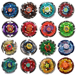 beyblade 24 UK - New 24 Styles 4D Constellation Beyblade Alloy Metal Fusion without Launcher Classic Toys For Children Single Spinning Top Fighting Gyro Gift