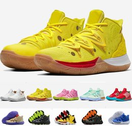 Mountain sneakers online shopping - 2019 New Men Basketball Shoes s Trainers Kyrie Irving Bandulu Squidward Easter Day EP Mountain Oreo Friends Patrick Sports Sneakers