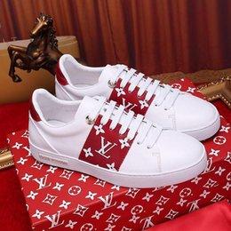 Groihandel Mode LVDesigner Stil Luxus-Frauen-Schuh-Turnschuhe Frontrow Sneaker Chaussures de femme Sale Luxury Damen Schuhe Casual L454 Schuhe
