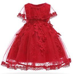 $enCountryForm.capitalKeyWord UK - Bautizo Baby Girls Infant Party Dresses Vintage Newborn Baptism Prom Gown Christening Frocks For Girl Dress 1st Birthday J190619