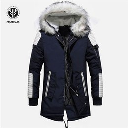 $enCountryForm.capitalKeyWord Australia - Brand New Winter Jacket Men Thicken Warm Parkas Casual Long Outwear Hooded Collar Jackets and Coats Men veste homme Wholesale