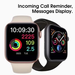 Bluetooth Smart Watch For Iphone Australia - 2019 iphone iwatch IWO 9 Smart watch 44mm Series 4 1to1 Bluetooth Smartwatch Heart Rate Monitor Sport Wristwatch for iPhone Samsung