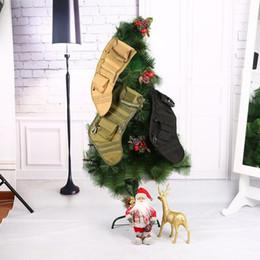 Sock Packs Australia - Tactical Molle Christmas Stocking Bag Dump Drop Pouch Utility Storage Bag Military Combat Hunting Christmas Socks Gift Pack #48402