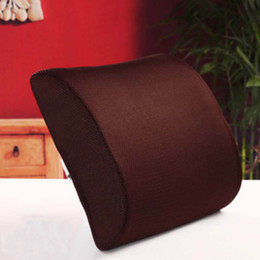 CouCh Cushions online shopping - Memory Foam Office Lumbar Massage Pillow Back Waist Support Cushion For Chairs Sofa Couch Pad