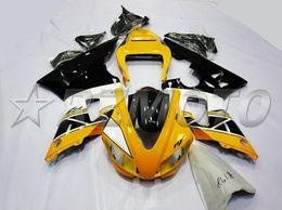 $enCountryForm.capitalKeyWord Australia - New ABS Compression Molding motorcycle plastic Fairings Kits Fit For YAMAHA YZF-R1-1000 1998-1999 98 99 bodywork Set Custom yellow black