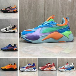 Red bRand toys online shopping - 2019 High Quality RS X Reinvention Toys Mens women Running Shoes Brand Designer Men Hasbro Transformers Casual Womens sports Sneakers