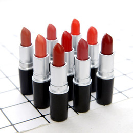 frosted lipsticks NZ - 2018 hot matte Lipstick M Makeup Luster Retro Lipsticks Frost Sexy Matte Lipsticks 3g 25 colors lipsticks with English Name