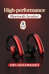 Best Waterproof Stereo Australia - High Quality Mobile Phone Wireless Headset Sport Headphone Bluetooth Earphone With Microphone for yourself with best gift