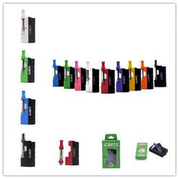 $enCountryForm.capitalKeyWord Australia - 2019NEW Icarts V2 Imini V2 Upgraded Starter Kits 650mAh Preheat Box Battery Mod with 1.0ml Vape Cartridges for Thick Oil 100% Original